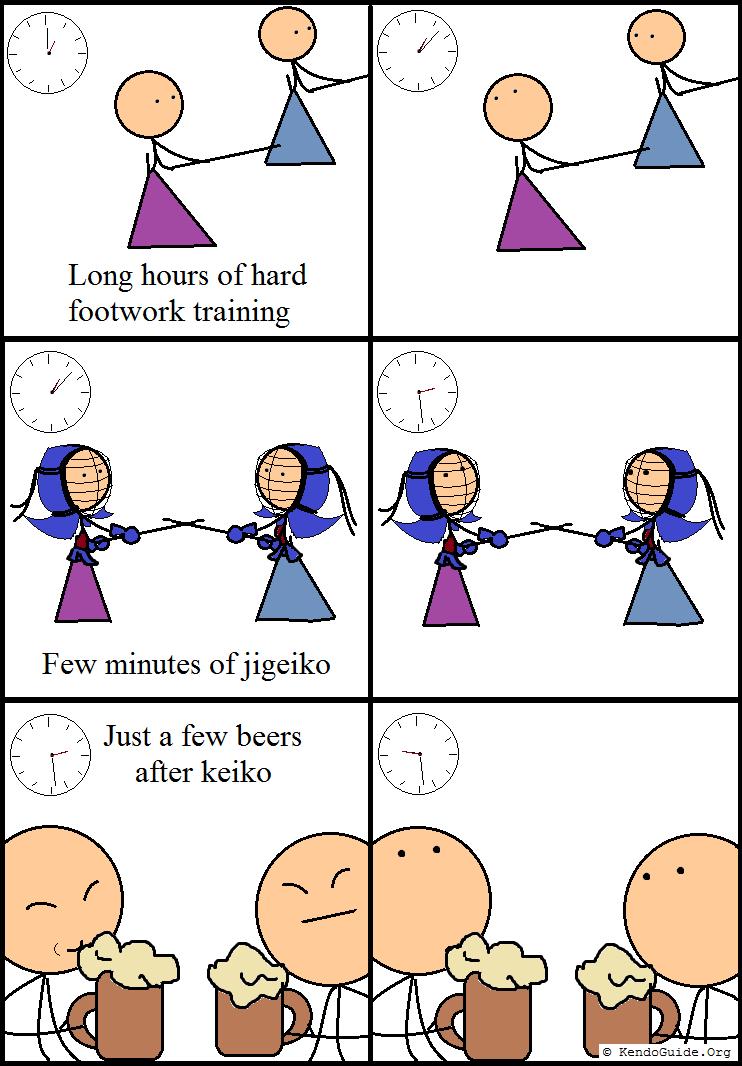Kendocomics: Kendo time